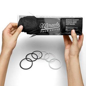 Miracle 2 Pack Black Microfiber Makeup Remover